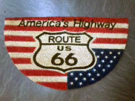 route66フロアマット
