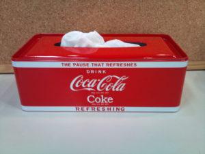 コカコーラ・ティッシュボックス