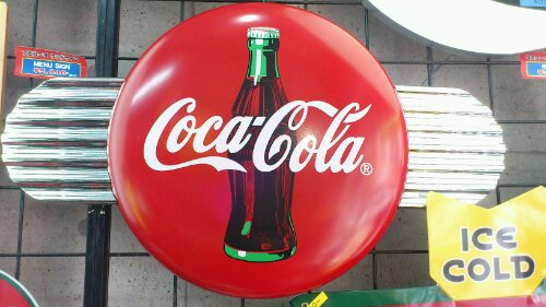 Coca-Cola ディスクアイコン