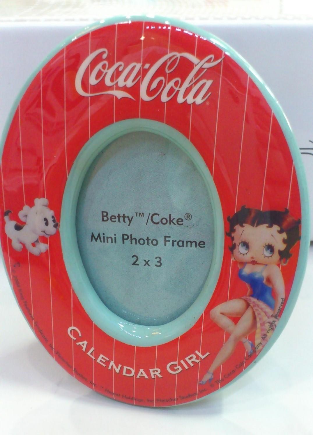 Betty×Coke ミニフォトフレーム