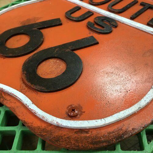 ルート66 エイジング塗装サンプル