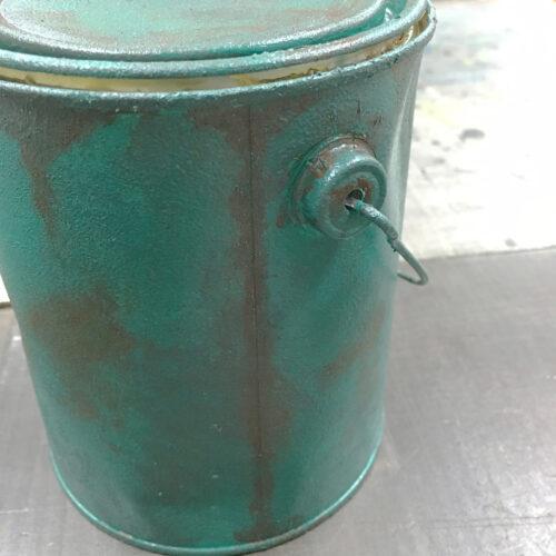 緑青風塗装サンプル
